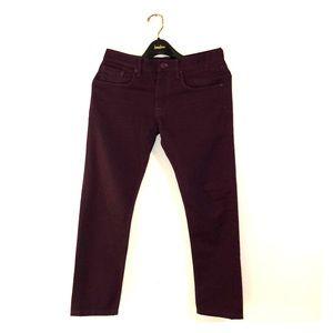 Men's Burberry jeans